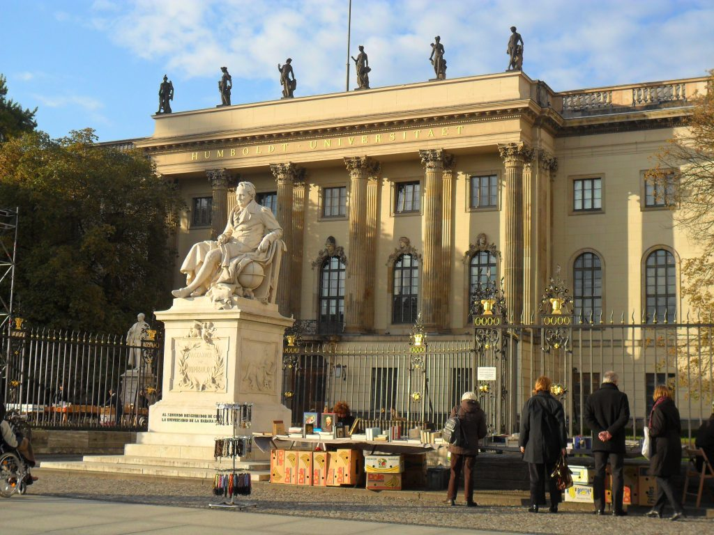 La Humboldt di Berlino Erasmus