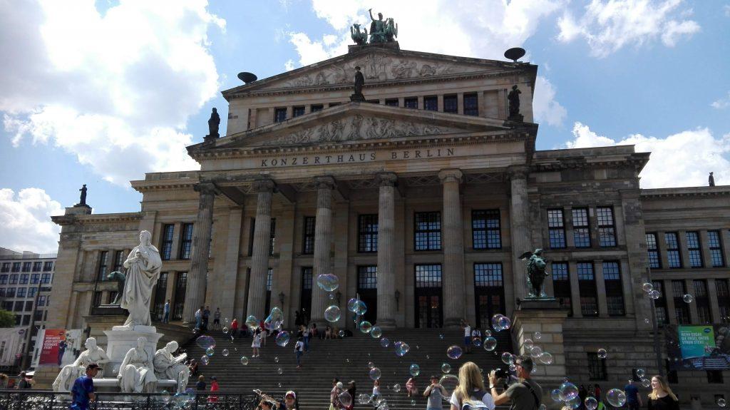 La Konzerthaus di Gendarmenmarkt