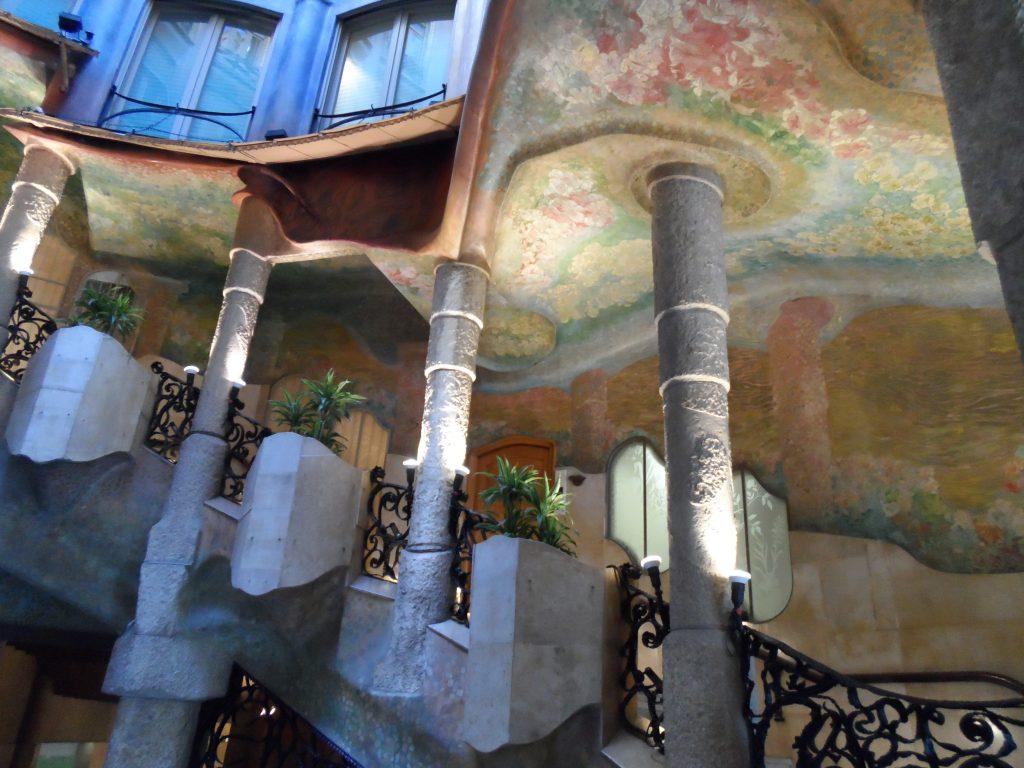 Casa Milà - Cortile interno - Erasmus a Barcellona